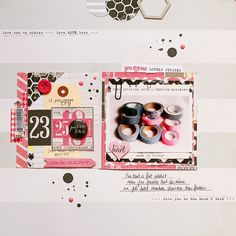 February layouts | Scraptastic Club by DT @Marinette Scrap