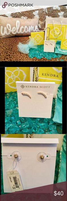 Kendra Scott Earrings! Kendra Scott Whit Climber Earrings! BNWT! Kendra Scott Jewelry Earrings