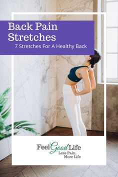 To keep your back moving in all the  directions it needs to, you need to stretch it out regularly. Here are 7 easy-peasy chair stretches you can do at home on your own! Back Stretches For Pain, Lower Back Exercises, Healthy Lifestyle Motivation, Healthy Lifestyle Tips, Piriformis Syndrome, Knee Pain Relief, Sciatic Pain, Senior Fitness, Healthy Relationships