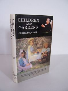 Vintage 1984 Children and Gardens   Book by by vintagenelly, $16.00