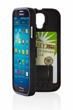 Samsung phone case with hidden wallet compartment.