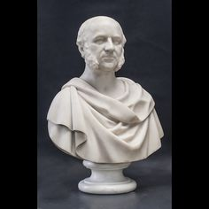 This marble statuary bust of Gardner Colby is from Brown University's Hay Library Reading Room. We rebuilt and reconnected his base, or socle, and several other broken parts, cleaned him and assisted his reinstallation.