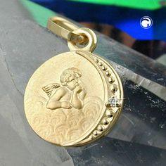 Anhänger Taufanhänger Brillant 9Kt GOLD accessorize24-430960