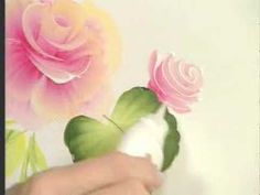 Donna Dewberry teaches you how to paint the cabbage rose - YouTube