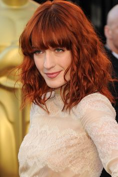 Florence Welch es una incondiconal del color rojizo para su cabello.