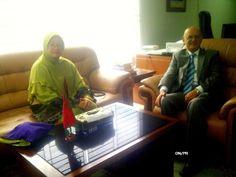 Direktur Diniyyah Puteri Silaturahmi Kedubes Maroko