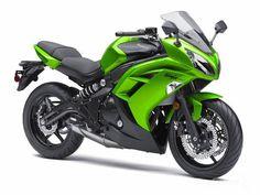 2013 Kawasaki Ninja 650 ABS. Can I get this in purple please.