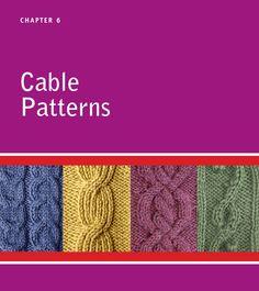 ISSUU - Knitting stitches visual Encyclopedia de Elena Petrova