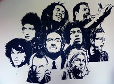 Wall drawing - Awesome singers and musicians by on DeviantArt Sisters Drawing, Play That Funky Music, Wall Drawing, People Of Interest, Caricature, Best Funny Pictures, Graffiti, Street Art, Deviantart