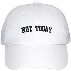 BTS NOT TODAY LOW PROFILE HAT (333.450 IDR) ❤ liked on Polyvore featuring accessories and hats