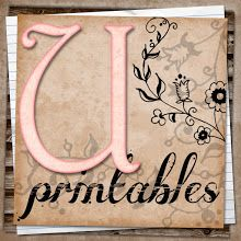 FREE PRINTABLES perfect for scrapbooks, smash books, cardmaking, labels or any other paper products. http://uprintables.blogspot.com/