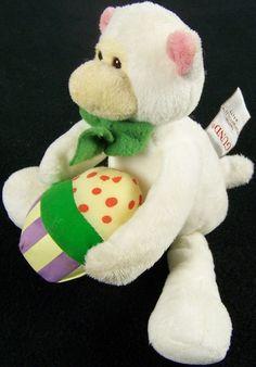 Gund Easter White Lamb Sheep Flapadoodles Plush Stuffed Animal Vintage 1986 #GUND #EasterLamb