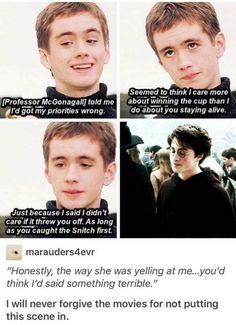 Ok but like Oliver Wood cared more about Harry's well being than Dumbledore when you think about it. Harry Potter Jokes, Harry Potter Fandom, Harry Potter World, It's My Life, Fans D'harry Potter, Potter Facts, No Muggles, Albus Dumbledore, Severus Snape