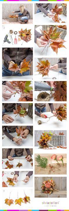 Come fare un bouquet autunnale... e largo spazio alla fantasia!