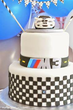Curly Girl Kitchen: BMW 40th Birthday Cake