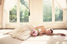 sunday morning photo inspiration bride lace sleeping beauty gorgeus flowers