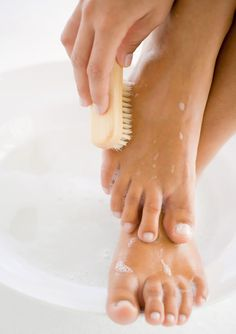 Look at your feet right now. Do you see black spots, uneven skin tone, dry finger nails and cuticles, cracked heels? Well, honey you are in dire need of a complete foot care regime.