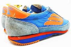 Spalding vintage running shoes @ The Deffest