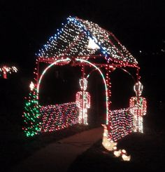 Of all the home businesses out there, Christmas Light Installation businesses may be one of the best kept secrets around. Most people think of hanging Christmas lights as a low paying, low potential, grunt work job, and therefore they Christmas Yard Art, Hanging Christmas Lights, Christmas Yard Decorations, Holiday Lights, Outdoor Christmas, Christmas Crafts, Holiday Decor, Christmas Displays, Xmas Lights