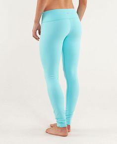 wunder under pant | women's pants | lululemon athletica  LIGHT BLUE!!! Yessss! i need these