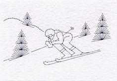 ski ing at Christmas!