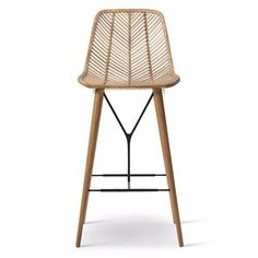 Nice Broeder Rattan Bar Stool By Www Tophome Decor
