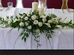 We think you may like these boards WP Post Church Wedding Flowers, Church Wedding Decorations, Bridal Flowers, Wedding Bouquets, White Flower Arrangements, Wedding Arrangements, Flower Centerpieces, Wedding Centerpieces, Bridal Table