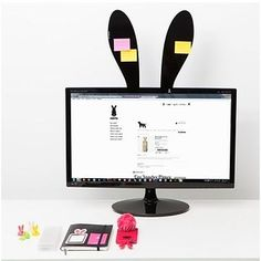 Rabbit Ear Memo Boards | 33 Desk Accessories That Will Make Your Day Better