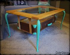 Coffee table suitcase