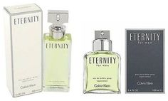 Eternity By Calvin Klein for Men or Women Cologne / Perfume 3.4 Oz New In Box