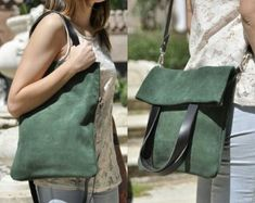OFRECEMOS modelo MERY cuero cuero bolso de mano cuero bolso | Etsy