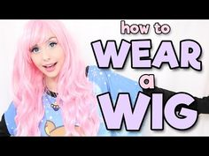 How to Wear a Wig | Alexa's Wig Series #1 - YouTube