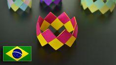Origami: Pulseira - Instruções em Português BR