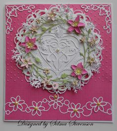 Selma's Stamping Corner: Another Pretty Wreath