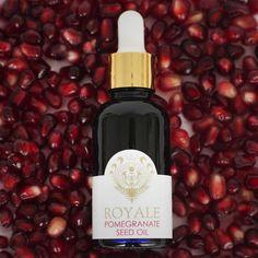 Pomegranate Seed Oil, Whiskey Bottle
