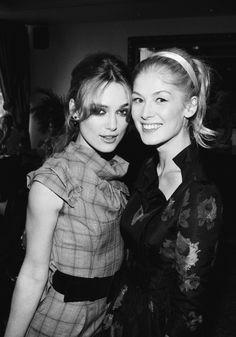 english beauties :: Keira Knightley x Rosamund Pike