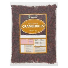 Dried Sweetened Cranberries 2kg #curtiss Cranberries, Home And Garden, Food And Drink