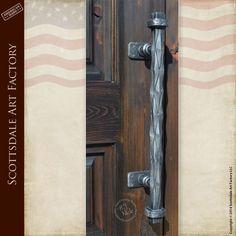 Iron Door Pulls - Custom Door Hardware HH348A