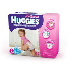 Трусики Huggies Little Walkers для девочек 13-17 кг (32 шт) Размер 5