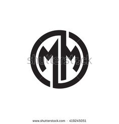 Find Mm Initial Letters Looping Linked Circle stock images in HD and millions of other royalty-free stock photos, illustrations and vectors in the Shutterstock collection. Monogram Logo, Circle Monogram, Luxury Logo Design, Vintage Logo Design, Circle Logo Design, Circle Logos, Initial Letters, Letter Logo, Kreis Logo Design