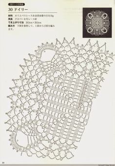 croche: Square and Rectangular Doily