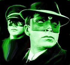 Van Williams and Bruce Lee as the Green Hornet TV Show.