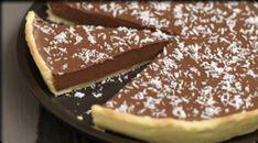 Tarta de chocolate y coco en HazteVegetariano.com