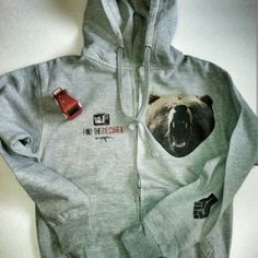 Mnd+Ctrl Grizzd Zip Up Hoodie One of MndCtrls first ZipUps. A trendy regular for Characters Sweaters Crew & Scoop Necks