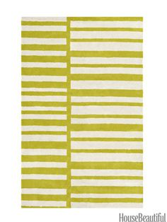 How do you modernize a stripe? Break it up and pump up the color.