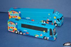 Mapei 2006 Team Truck & Bus - H0 (1/87) scale
