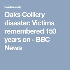 A service is held to remember 383 people killed in what is thought to be England's worst mining disaster. What Is Thinking, South Yorkshire, Bbc News, Hold On, England, Victorian, Thoughts, People, Naruto Sad