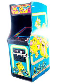Vintage Ms PacMan Arcade Game