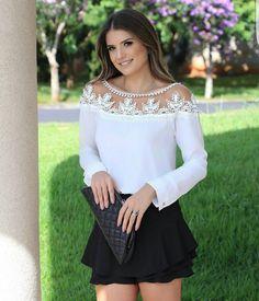 """806 curtidas, 18 comentários - Mells Moda (@mellsmoda) no Instagram: """"Perfeição  Blusa Agatha.  R$ 125,90.  Compras pelo site www.mells.com.br  ✔ Parcele suas…"""""""