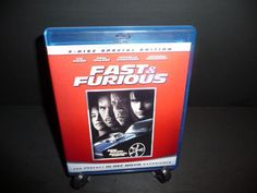 Fast & Furious (Blu-ray Disc, 2009, Special Edition; Includes Digital Copy)